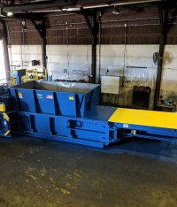 Harris HRB 8 Two Ram Baler (Reconditioned)
